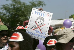 Does America oppose female genital mutilation – or not?
